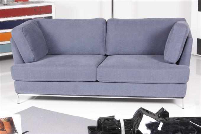 br hl carousel 2 5 er sofa stoff blau ebay. Black Bedroom Furniture Sets. Home Design Ideas