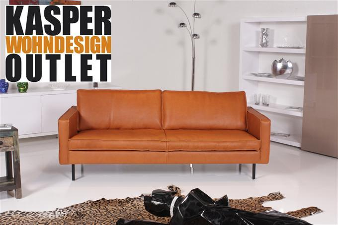 tommy machalke buster 3er sofa leder mammut camel ebay. Black Bedroom Furniture Sets. Home Design Ideas