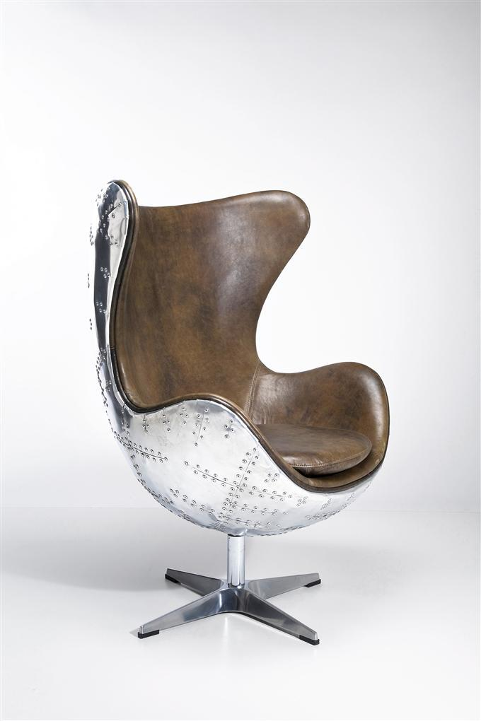 Kare Design Sessel Soho Big Boss : KARE Designer Drehsessel Soho Big Boss Leder braun  eBay