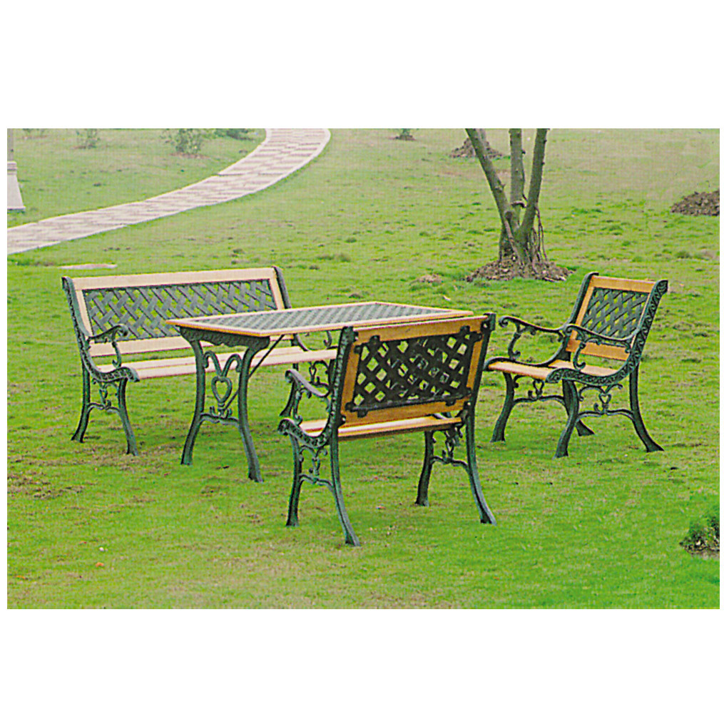 parkbank gartenbank holzbank garten bank sonja f r max 300kg holz metall ebay. Black Bedroom Furniture Sets. Home Design Ideas