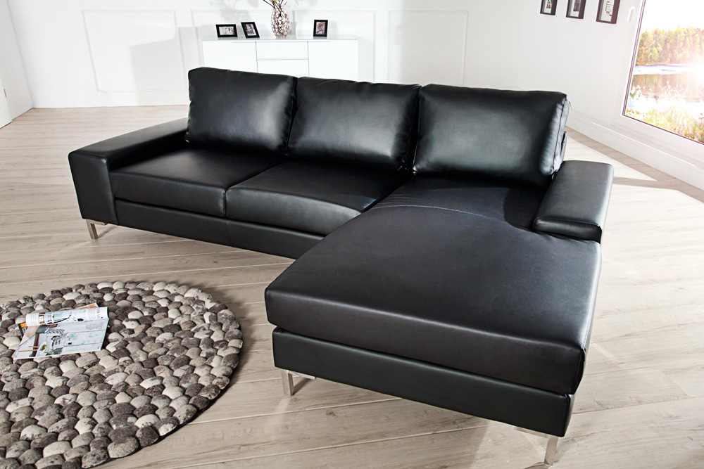 ecksofa milano couch federkern wohnlandschaft sofa polstersofa ot rechts ebay. Black Bedroom Furniture Sets. Home Design Ideas