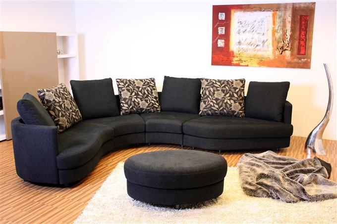 rolf benz 4500 ecksofa elementsofa stoff schwarz ebay. Black Bedroom Furniture Sets. Home Design Ideas