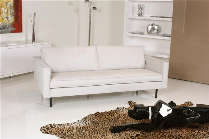 tommy machalke buster 3er sofa leder zulu offwhite ebay. Black Bedroom Furniture Sets. Home Design Ideas