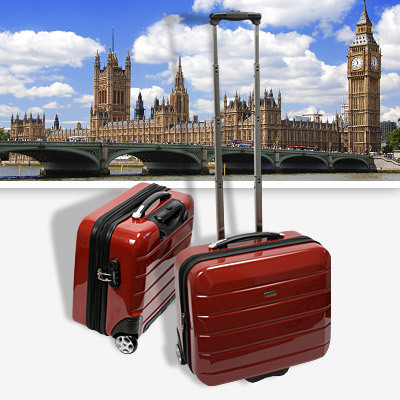 cabin bord case london kleiner koffer trolley london ebay. Black Bedroom Furniture Sets. Home Design Ideas