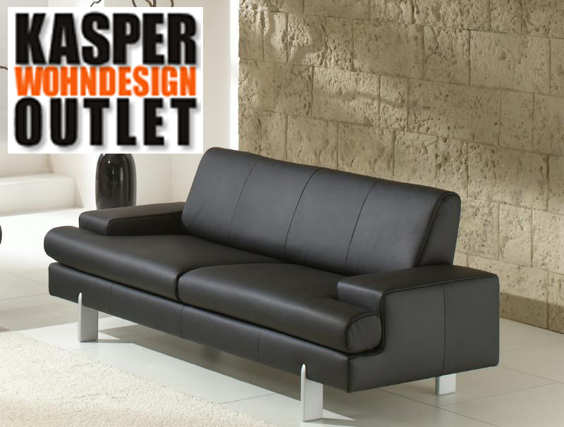 ak 644 2er sofa aus dem hause rolf benz dickleder ebay. Black Bedroom Furniture Sets. Home Design Ideas