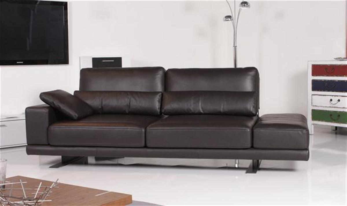 Rolf benz sofa vero 556 leder dunkelbraun ebay for Couch benz