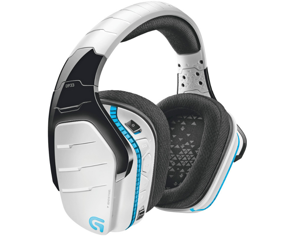 logitech g933 gaming headset ebay. Black Bedroom Furniture Sets. Home Design Ideas