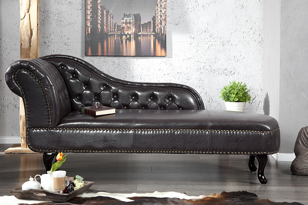 chesterfield recamiere coffee bank chaiselongue sessel. Black Bedroom Furniture Sets. Home Design Ideas