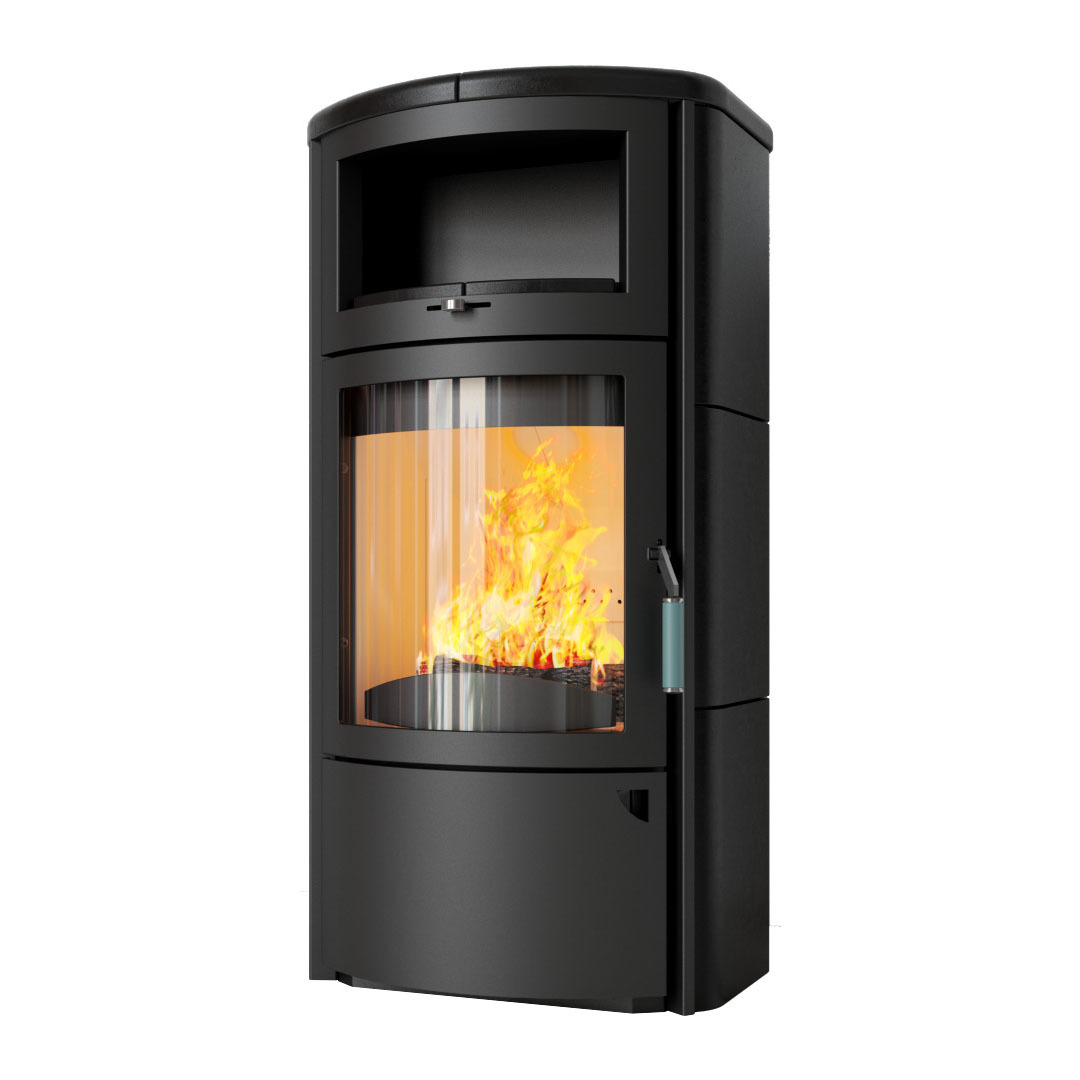kaminofen hark 44 gt ecoplus firetronic schwedenofen stahlofen dauerbrand ebay. Black Bedroom Furniture Sets. Home Design Ideas