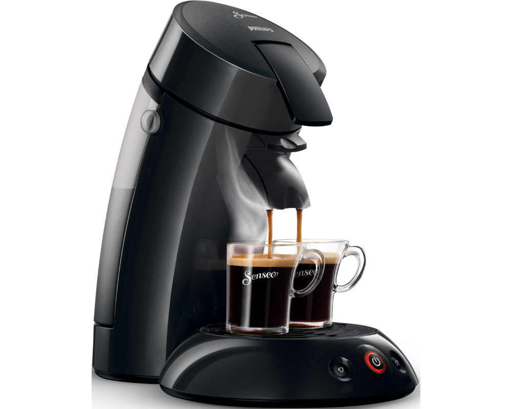 philips hd 7817 senseo original padmaschine kaffeemaschine schwarz neu ebay. Black Bedroom Furniture Sets. Home Design Ideas