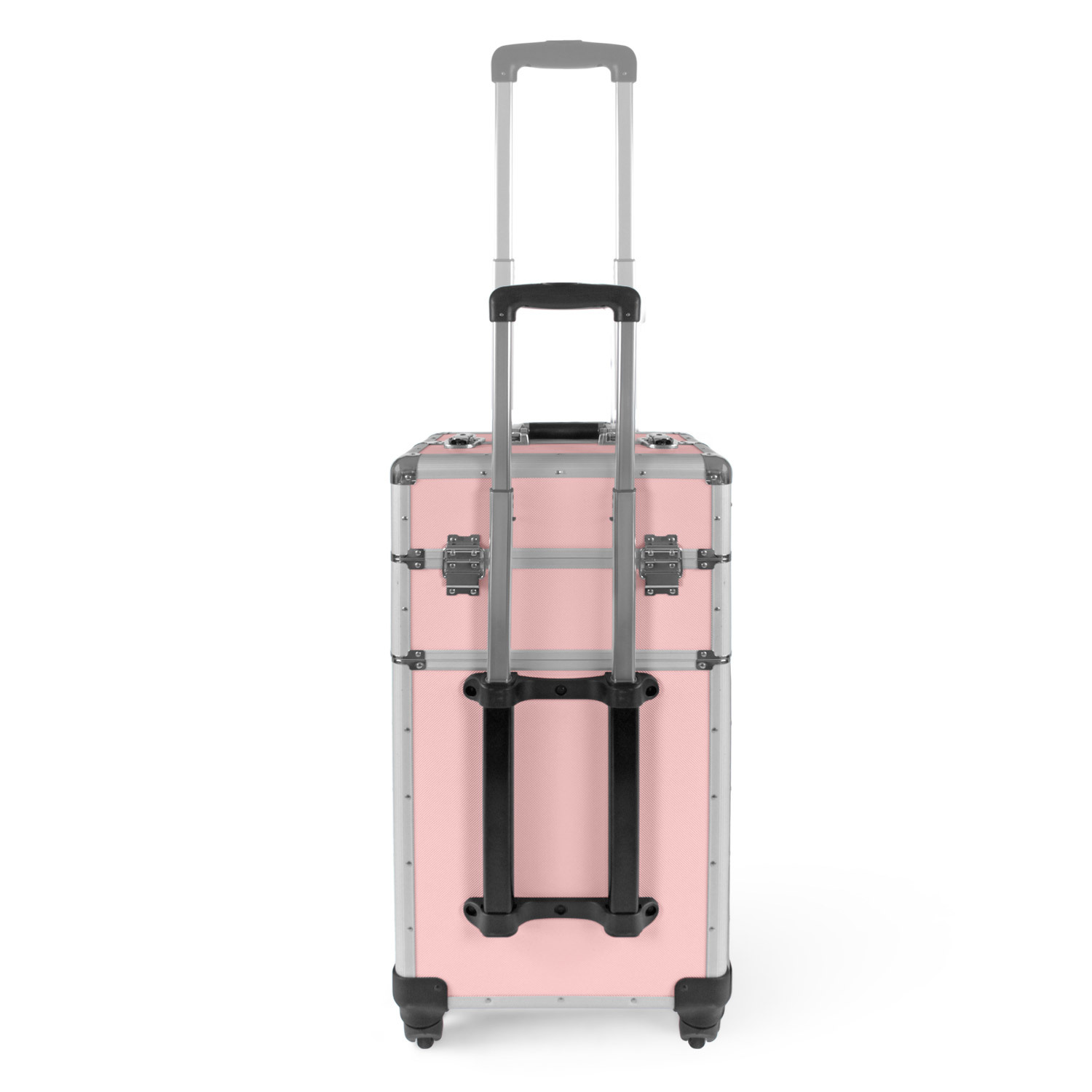 pilotenkoffer friseurkoffer rosa 75x37x24cm visagisten trolley werkzeug 4 rollen ebay. Black Bedroom Furniture Sets. Home Design Ideas