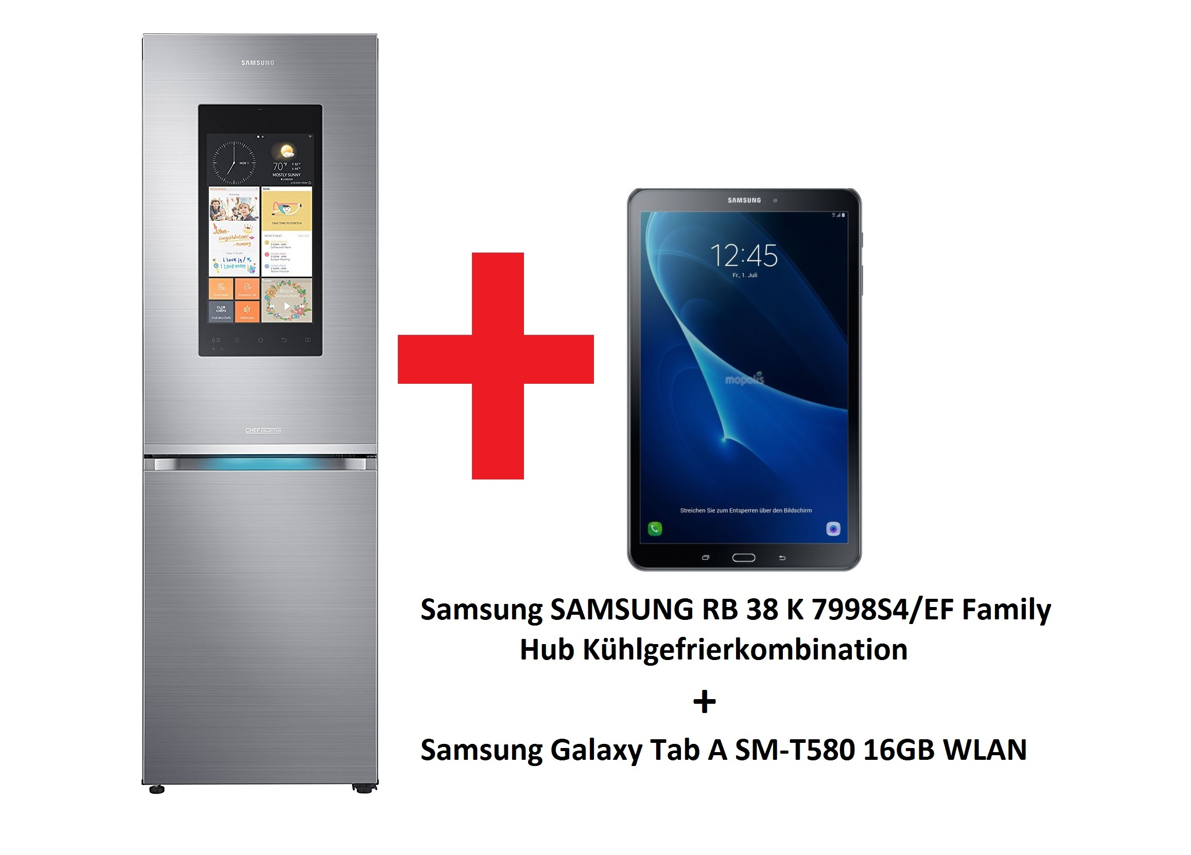 samsung rb 38 k 7998s4 ef k hlschrank samsung galaxy tab a gratis ebay. Black Bedroom Furniture Sets. Home Design Ideas