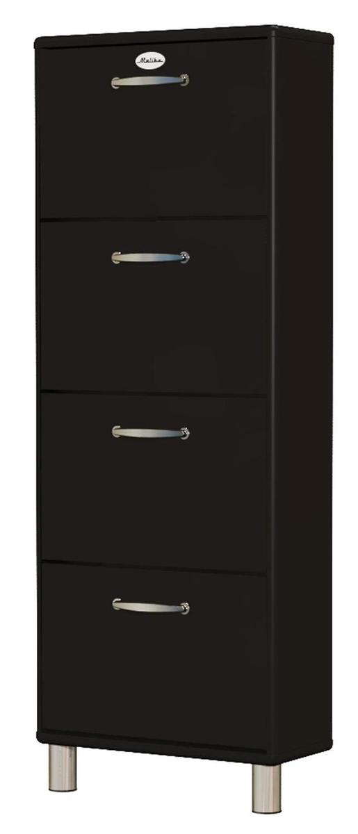 tenzo schuhschrank schuhkipper malibu 5265 in schwarz ebay. Black Bedroom Furniture Sets. Home Design Ideas