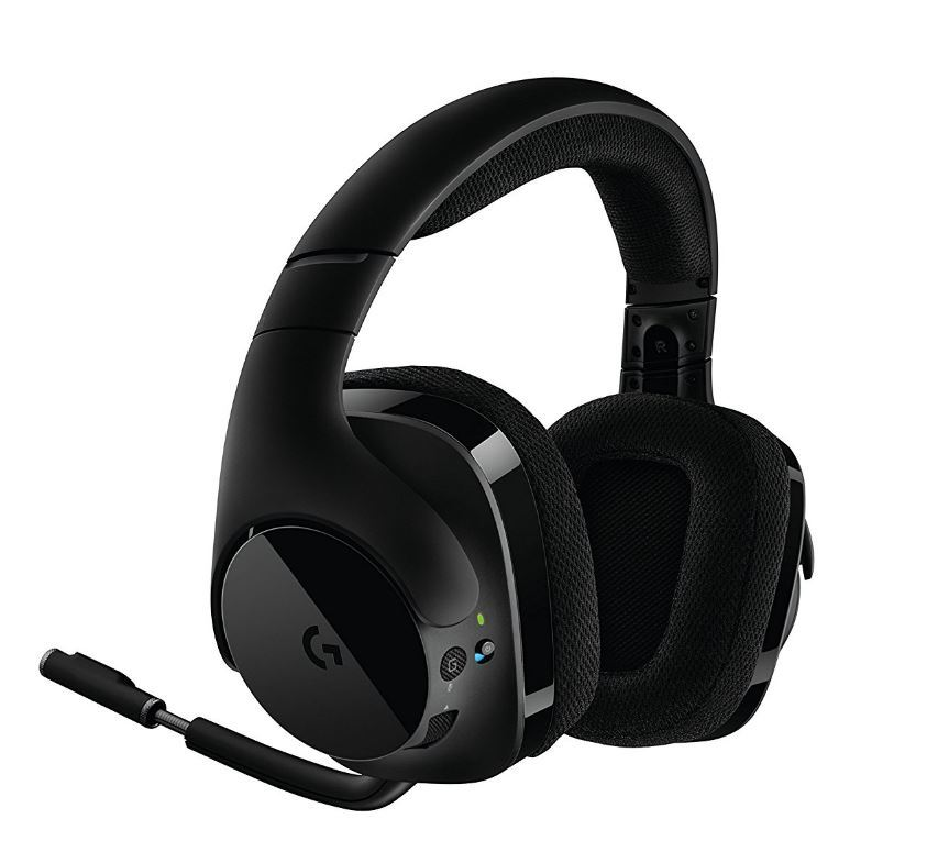 logitech g533 wireless dts 7 1 gaming headset 4139 ebay. Black Bedroom Furniture Sets. Home Design Ideas