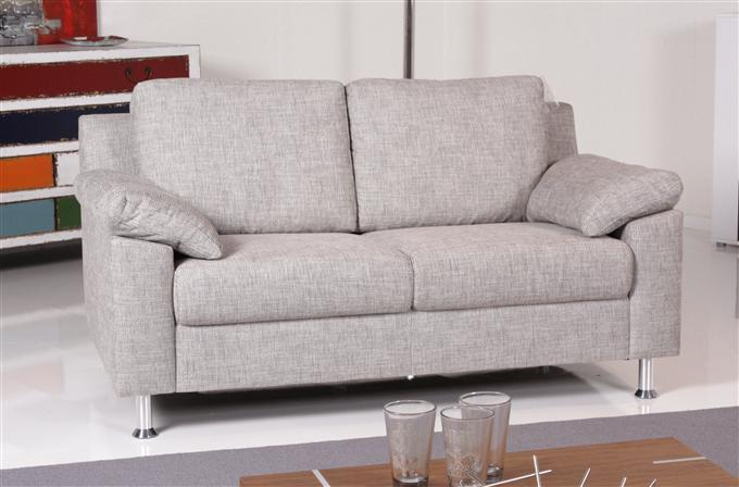 ewald schillig flexplus 2er sofa stoff grau ebay. Black Bedroom Furniture Sets. Home Design Ideas