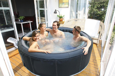 luxus whirlpool jacuzzi 6p mspa spa badewanne outdoor aufblasbar mit heizung neu ebay. Black Bedroom Furniture Sets. Home Design Ideas