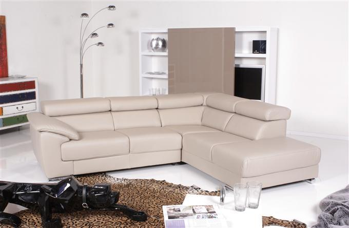 ewald schillig blues ecksofa leder sand ebay. Black Bedroom Furniture Sets. Home Design Ideas