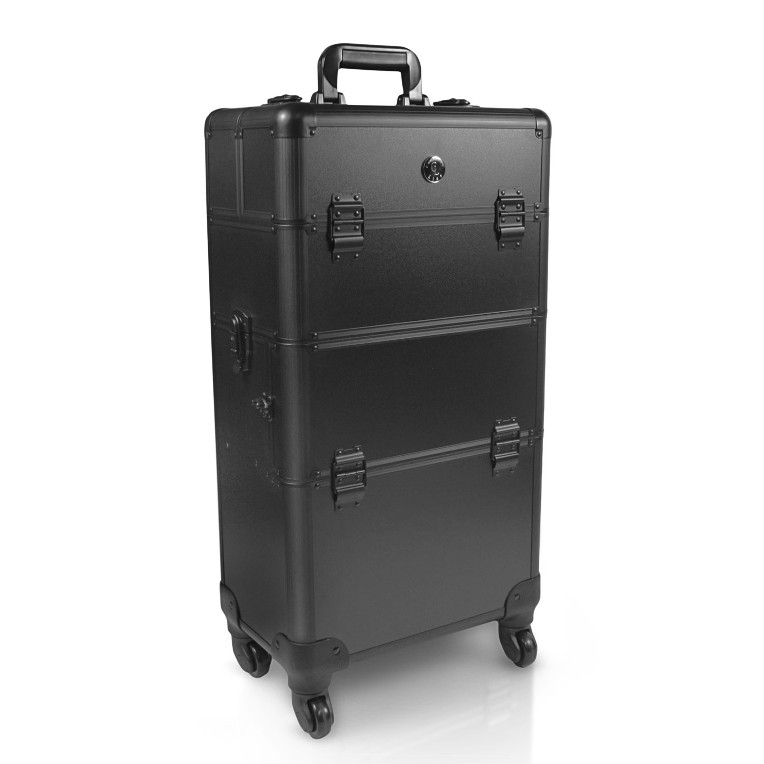 hairdresser suitcase visagists trolley pilot case beauty case makeup hairdressing trolley ebay. Black Bedroom Furniture Sets. Home Design Ideas