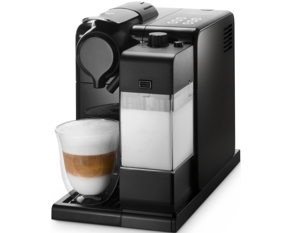 delonghi en550b nespresso lattissima touch kaspelmaschine glam black ebay. Black Bedroom Furniture Sets. Home Design Ideas
