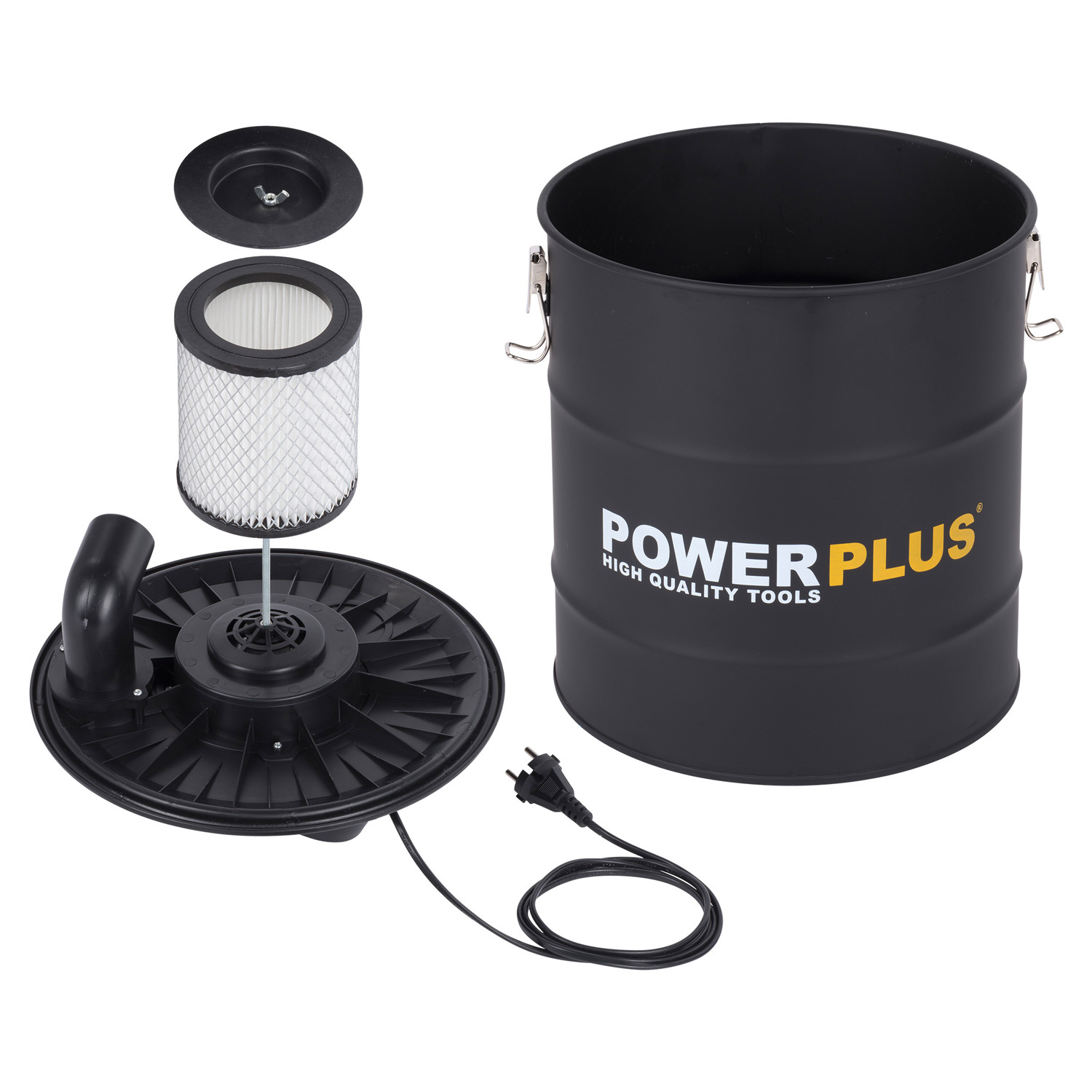 powerplus sauger aschesauger 1200 w staubsauger. Black Bedroom Furniture Sets. Home Design Ideas
