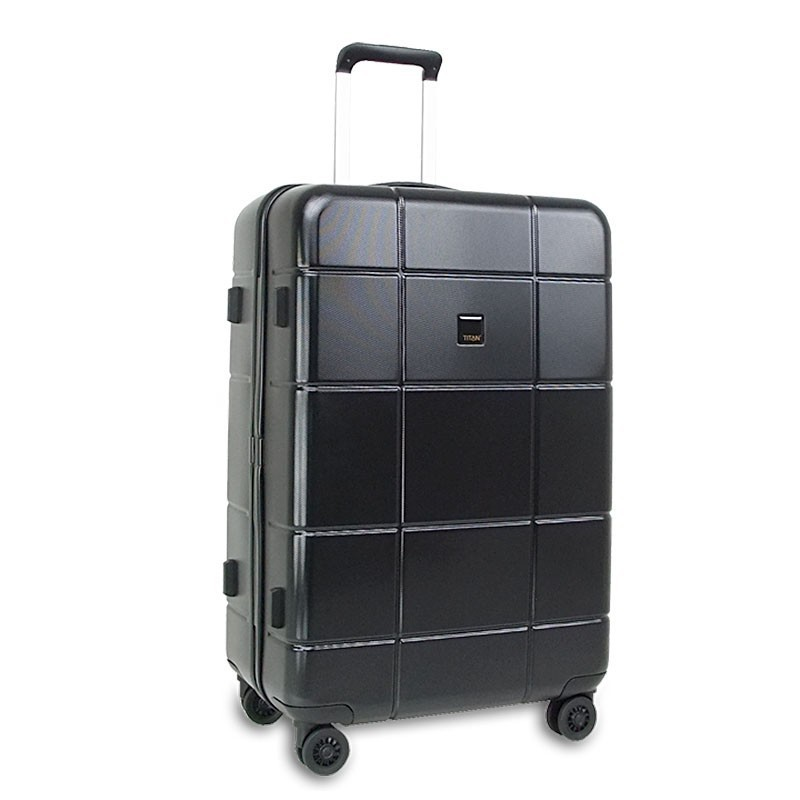 titan backstage 4 rollen trolley l gro 75cm koffer ebay. Black Bedroom Furniture Sets. Home Design Ideas