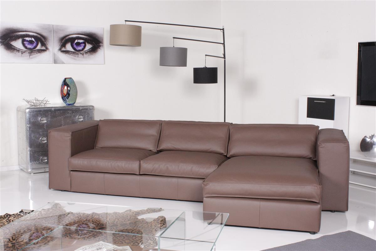 het anker sofa sassari ecksofa leder africa tananica ledersofa braun ebay. Black Bedroom Furniture Sets. Home Design Ideas