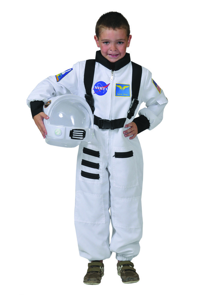 astronaut kost m wei weltall mars raumfahrer karneval kinder ebay. Black Bedroom Furniture Sets. Home Design Ideas