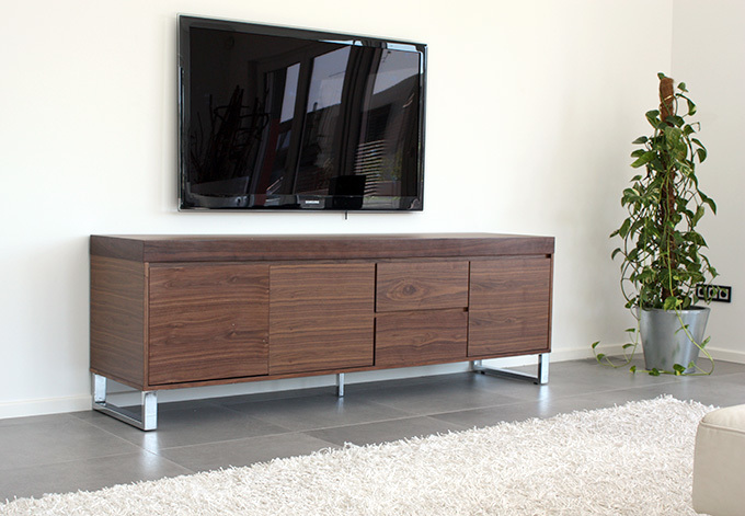 Scala Sideboard In Walnuss Chrom Ebay