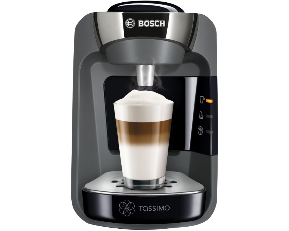 bosch tassimo tas 3202 suny schwarz anthrazit kaffee kapselmaschine. Black Bedroom Furniture Sets. Home Design Ideas