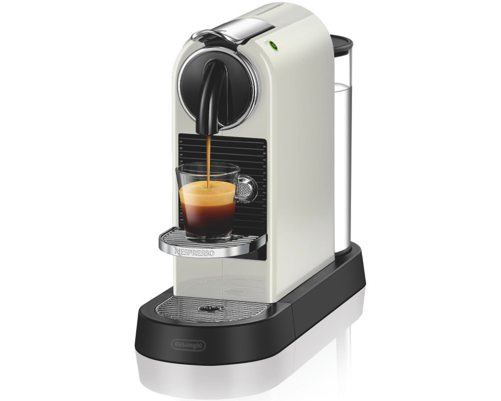 delonghi en 167 w wei citiz nespresso ohne welcome kapseln ebay. Black Bedroom Furniture Sets. Home Design Ideas