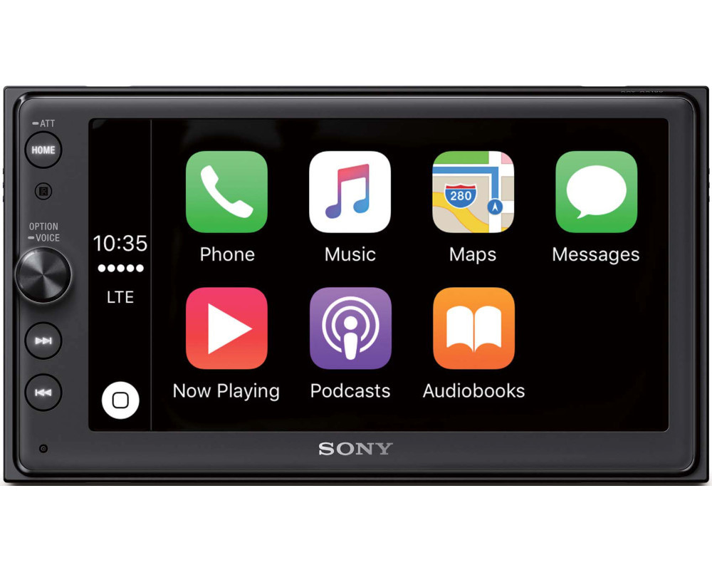 sony xav ax100 doppel 2 din autoradio bluetooth apple. Black Bedroom Furniture Sets. Home Design Ideas