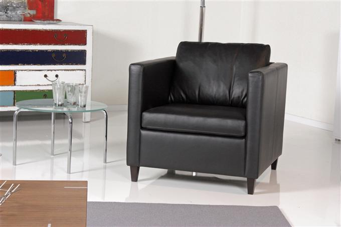 machalke crack 401 sessel leder schwarz ebay. Black Bedroom Furniture Sets. Home Design Ideas