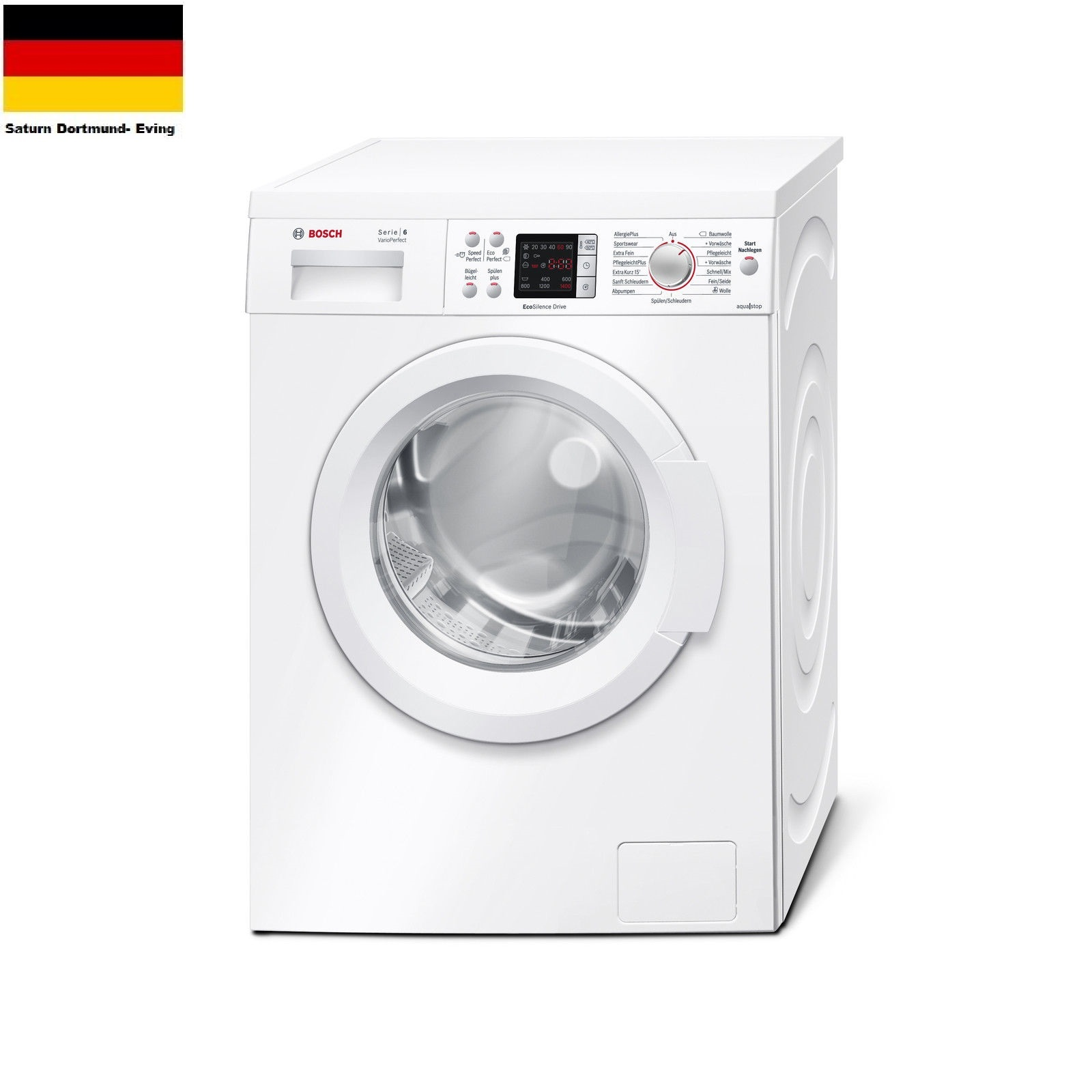 bosch waq2844u serie 6 waschmaschine 7kg 1400 u min a. Black Bedroom Furniture Sets. Home Design Ideas