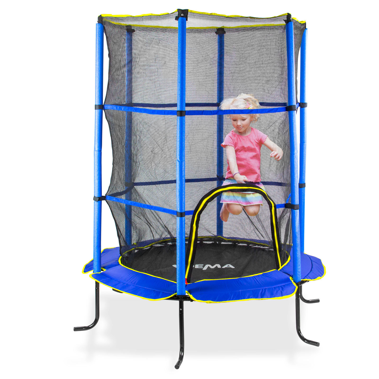 trampolin gartentrampolin kindertrampolin fitness 140 cm belastbar bis 25 kg ebay. Black Bedroom Furniture Sets. Home Design Ideas