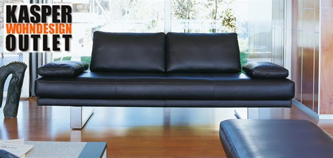 rolf benz 6600 2er sofa leder schwarz ebay. Black Bedroom Furniture Sets. Home Design Ideas