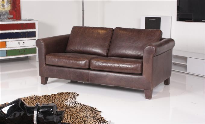 machalke amadeo 2 5er sofa leder el cuero chocolate ebay. Black Bedroom Furniture Sets. Home Design Ideas