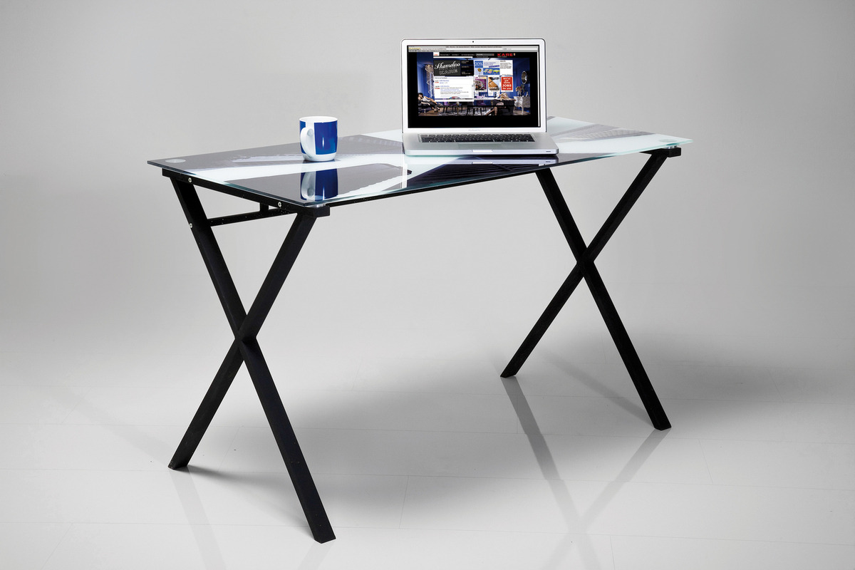 Kare design laptoptisch skyline 120x60 cm ebay for Design laptoptisch