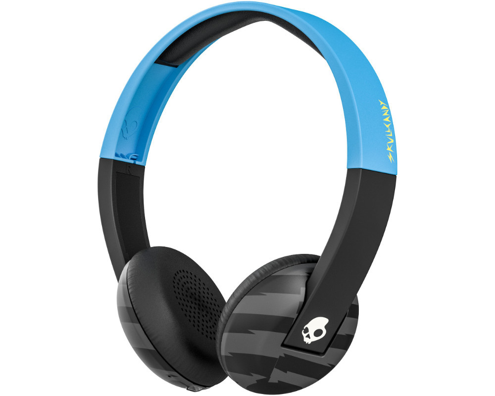 skullcandy uproar bluetooth kopfh rer blau schwarz neu und ovp ebay. Black Bedroom Furniture Sets. Home Design Ideas
