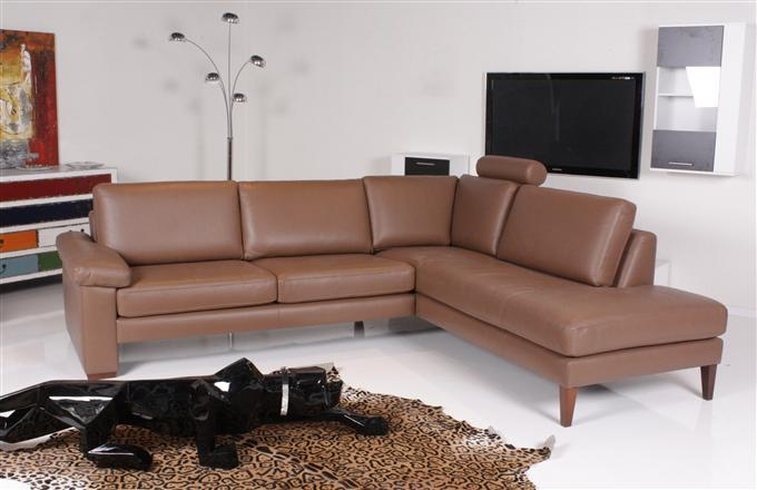 machalke system plus ecksofa leder belsoave braun ebay. Black Bedroom Furniture Sets. Home Design Ideas