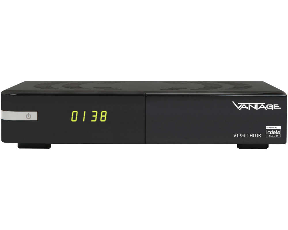 vantage vt 94 t hd ir dvb t2 hd receiver hdtv dvb t2 hd neu ovp ebay. Black Bedroom Furniture Sets. Home Design Ideas
