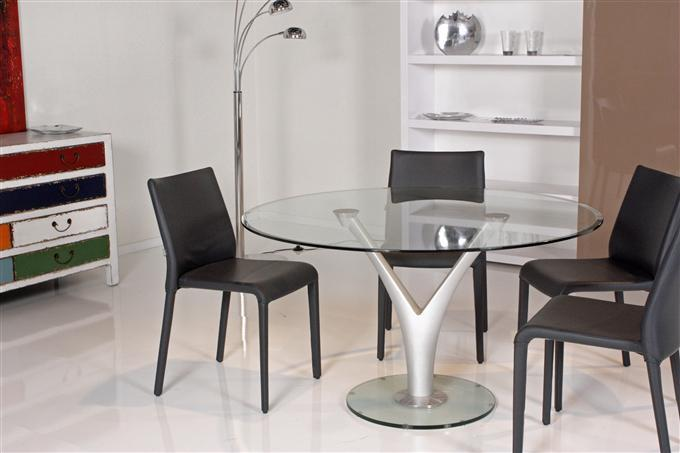 rolf benz esstisch modell 1210 glas transparent ebay. Black Bedroom Furniture Sets. Home Design Ideas