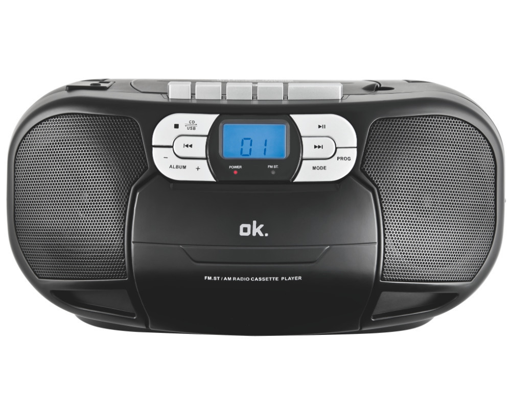 orc 500 b cd player mit kassettendeck neu ovp mp3 radio ebay. Black Bedroom Furniture Sets. Home Design Ideas
