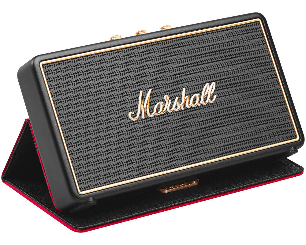 marshall stockwell bluetooth lautsprecher retro design inkl cover ebay. Black Bedroom Furniture Sets. Home Design Ideas