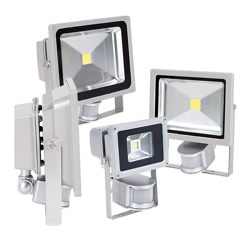 led strahler 10 30w infrarot bewegungsmelder flutlicht bau strahler lampe eek c ebay. Black Bedroom Furniture Sets. Home Design Ideas