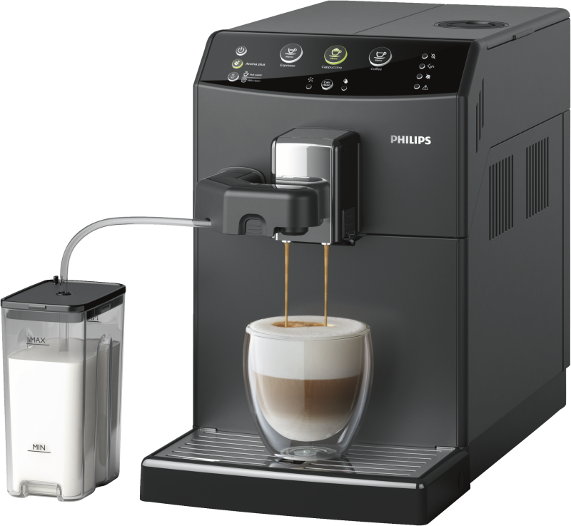philips hd8829 01 kaffee vollautomat one touch funktion f r cappuccino neu ovp. Black Bedroom Furniture Sets. Home Design Ideas