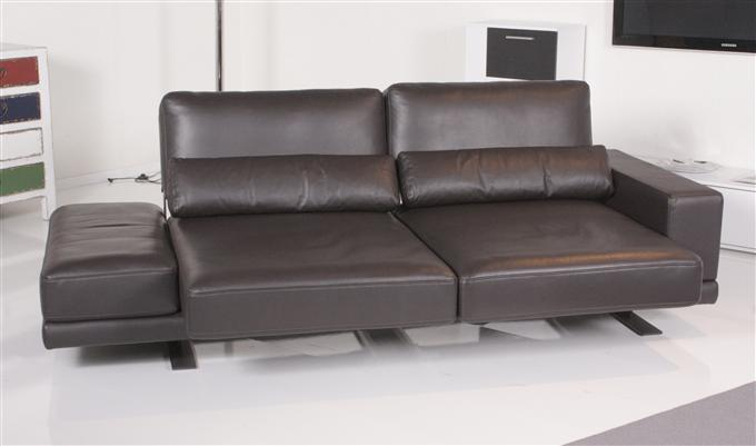 rolf benz sofa 556 vero leder dunkelbraun ebay. Black Bedroom Furniture Sets. Home Design Ideas