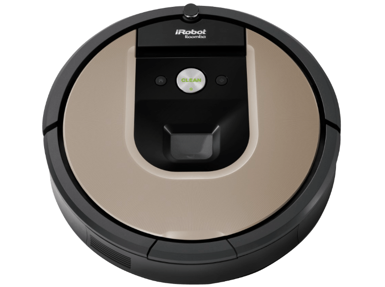irobot roomba 966 saugroboter automatischer staubsauger schwarz braun. Black Bedroom Furniture Sets. Home Design Ideas