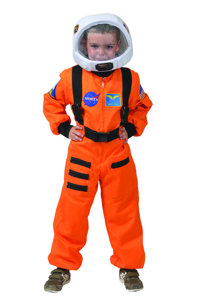 astronaut kost m orange weltall jungen gr 104 ebay. Black Bedroom Furniture Sets. Home Design Ideas