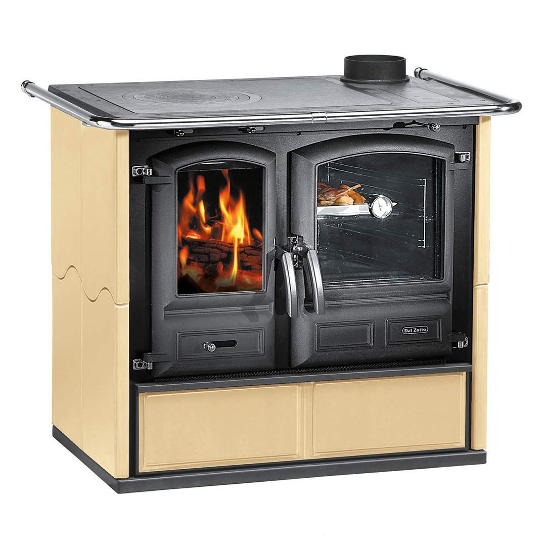 dal zotto kaminofen termo regina 631 dsa pergament wasserf hrend k chenherd ebay. Black Bedroom Furniture Sets. Home Design Ideas