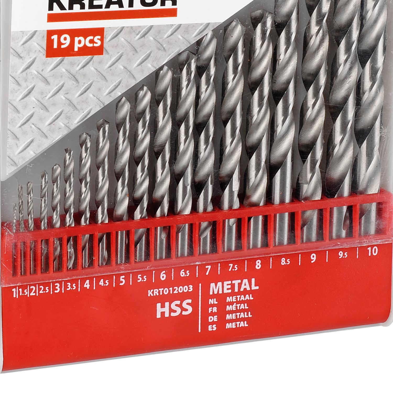 5 Metall Spiralbohrer HSS 11.0 mm Metallbohrer